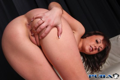Penny Flame Shaved Pussy